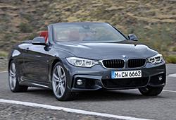 BMW 4er Cabrio - offen - Frontansicht