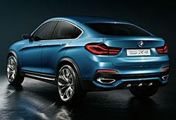 BMW Concept X4 - hintere Seitenansicht