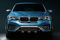 BMW Concept X4 - Frontalansicht