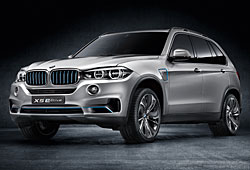 BMW Concept X5 eDrive - Frontansicht