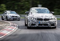 M3 und M4 - getarnt auf der Nürburgring-Nordschleife auf Testfahrt