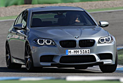 BMW M5 Pure Metal Silver - Frontansicht