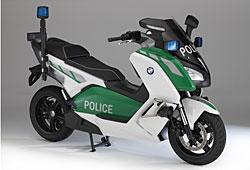 BMW C Evolution - Visionsfahrzeug für den Behördeneinsatz
