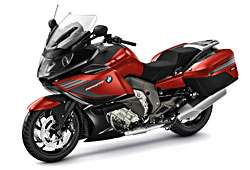 BMW K 1600 GT S port in Sakhirorange Metallic/Blackstorm Metallic
