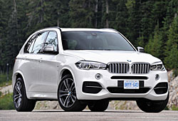 BMW X5 M50d - Frontansicht