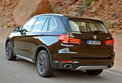 BMW X5 xDrive50i Design Pure Experience Sparkling Braun - Heckansicht