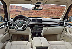 BMW X5 xDrive 50i Design Pure Experience - Innenraum Nappaleder Elfenbeinweiß