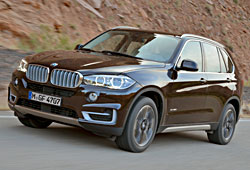 BMW X5 xDrive50i Design Pure Experience in Sparkling Braun - Frontansicht