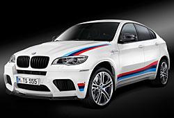 BMW X6 M Design Edition - Frontansicht mit optionaler Beklebung in M-Farben