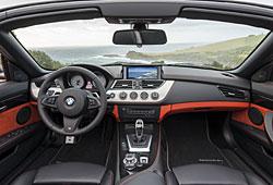 BMW Z4 Innenraum Ausstattung Design Pure Traction