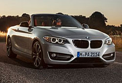 BMW 2er Cabrio - Frontansicht geöffnet