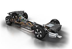BMW 3er Plug-in-Hybrid Prototyp - Antriebsstrang
