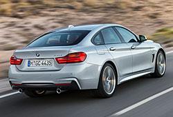 BMW 4er Gran Coupé  - Heckansicht