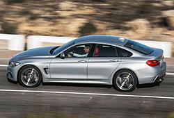 BMW 4er Gran Coupé - Seitenansicht