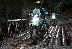 BMW GS Trophy 2014 - Tag 1 - Prüfung Broken Bridge