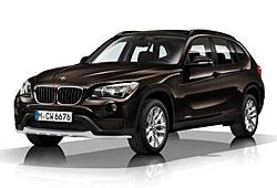 BMW X1 - Frontansicht - Farbe Sparkling Brown Metallic