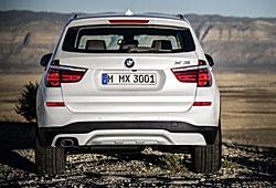 BMW X3 xLine - Heckansicht