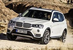 BMW X3 xLine - Frontansicht