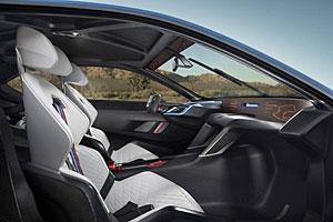 BMW 3.0 CSL Hommage R - Einblick in den Innenraum