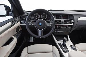 BMW X4 M40i - Cockpit