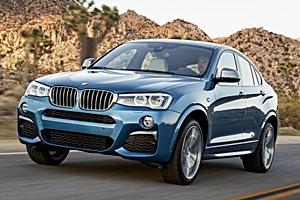 BMW X4 M40i - Außenansicht