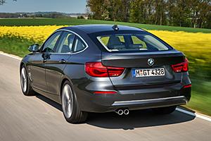 BMW 3er Gran Turismo Luxury Line - Heckansicht