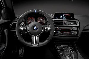 BMW M2 Coupé - Innenraum mit M Performance-Teilen