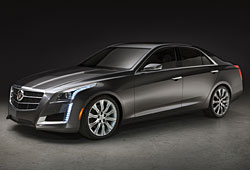 Cadillac CTS  - Seitenansicht