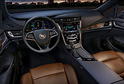 Cadillac ELR Cockpit