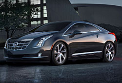 Cadillac ELR Frontansicht