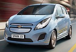 Chevrolet Spark EV Frontansicht