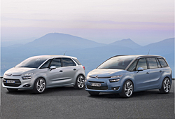 Business Class-Sondermodelle: Citroen C4 Picasso und Grand C4 Picasso