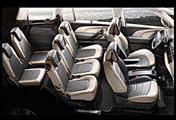 Citroen Grand C4 Picasso - Innenraumkonfiguration der Sitze