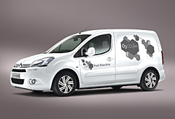 Citroen Berlingo Electric -Seitenansicht