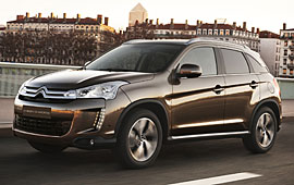 Citroen C4 Aircross Selection