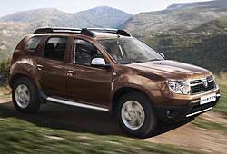 Dacia Duster - Seitenansicht