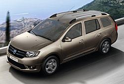 Dacia Logan MCV - seitliche Frontansicht
