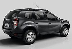 Dacia Duster - seitliche Heckansicht