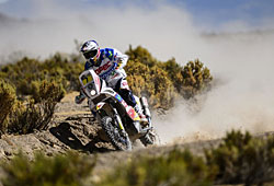 Dakar 2013 - Francisco Lopez - © Maragin M. KTM Images