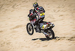 Dakar 2013 - Husqvarna-Pilot in Action