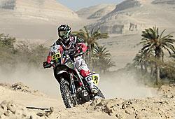 Dakar 2013 - Joan Barreda auf dem Weg zum Tagessieg der 2. Etappe
