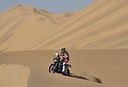 Dakar 2013 - Husqvarna-Pilot in Action