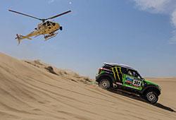 Dakar 2013 - Stéphane Peterhansel im X-Raid-Mini