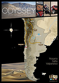 Dakar 2014 - Route