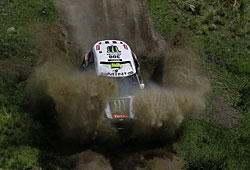 Dakar 2014 - Peterhansel behielt auf der 2. Etappe den Durchblick