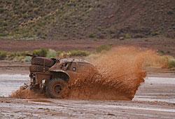Dakar 2015 - Autos auf der Marathonetappe
