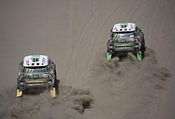 Dakar 2015 - Sind die Mini am Ende wieder die Gewinner