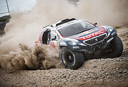 Dakar 2015 - Peugeot 2008 DKR in Aktion