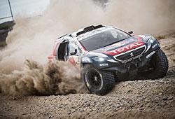 Dakar 2015 - Peugeot 2008 DKR in Aktion