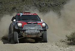 Dakar 2015 - Orlando Terranova holt im Mini den Sieg der dritten Etappe